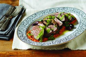Grilled American Lamb Sirloin