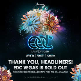 Electric Daisy Carnival, Las Vegas Tickets Sell Out in Record Time