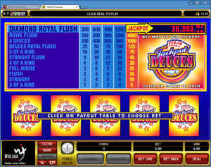 Jackpot Deuces at Wild Jack Casino