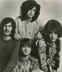 Led Zeppelin  Clockwise from top: Jimmy Page, Robert Plant, John Paul Jones, John Bonham  (Photo Credit: Atlantic Records)