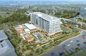 Pacific Hospitality Group and R.D. Olson Development recently unveiled their latest hotel project, the 250-room, Pacific Ocean-facing hotel that will be part of the Pacific City development in Huntington Beach, California.