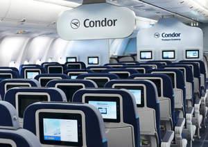 Condor, Condor Airlines, Thomas Cook Airlines, Airlines, Cabin, Business Class, Premium Economy Clas