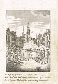 Boston Massacre, 1770, Caren Collection