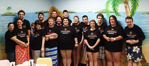 Sahara Sam's Hosts Special Needs Event  Attended By New Jersey Special Olympics Aquatics Team