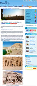 Cheapflights.com Top 10 Places Where the Sun Aligns