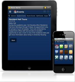 Quadlyfe mobile platform for colleges and universities.