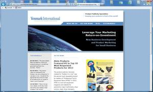 Venmark International introduces new website