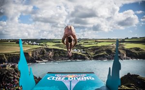 Red Bull Cliff Diving World Series 2013 Wales