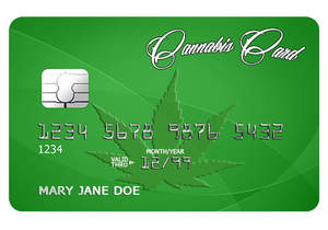 cannabis marijuana debit card