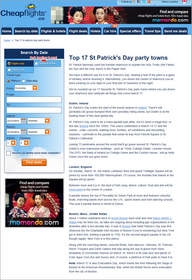 Cheapflights.ca Top 17 St. Patrick's Day Party Towns