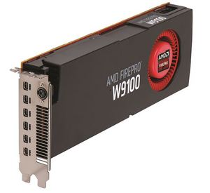 AMD FirePro W9100 -  The Ultimate Real-Time 4K Experience for Next Generation Workstations