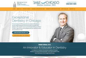 Dr. Sheldon Seidman Unveils New Customized Dental Website Design