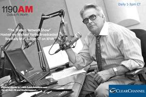 """Host Michael Yorba of """"The Traders Network Show"""" broadcasted live on Clear Channel Business Talk Radio DFW1190AM KFXR Daily M-F, 1-3pm CT"""