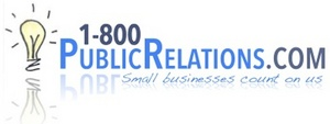 1-800-PublicRelations.com, exclusive PR Agency for Clear Channel's The Traders Network Show - services starting at $1.00 month. inquire today at 917.409.8211