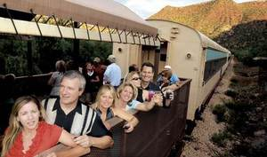 Wine in the Wilderness - Grape Train Escape