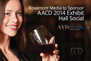 Exhibit Hall Social at 2014 AACD Conference to be Hosted by Rosemont Media