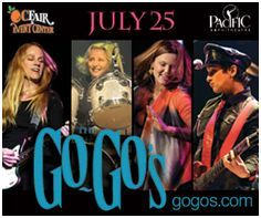 OC Fair Announces Performance by The Go-Go's in the 2014 Toyota Summer Concert Series at the Pacific Amphitheatre