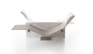 marble chaise, luxury marble, chaise, italian design, architecture, interior design, spa