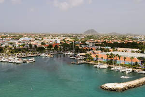 Harbor in Aruba