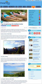 Cheapflights.com Top 10 Getaways for Mothers to Be, Mother's Day