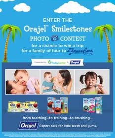Orajel™ Smilestones Photo Contest