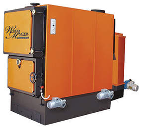 WoodMaster Commercial Series boiler