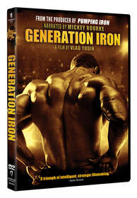 GENERATION IRON available digitally, On Demand, and on DVD from Starz Digital Media and Anchor Bay.