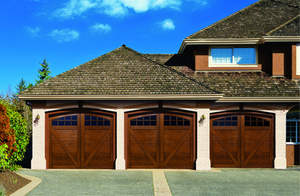 Quartet garage doors by Artisan