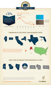 TransUnion, credit card, infographic