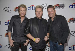 L-R): Joe Don Rooney, Gary LeVox and Jay DeMarcus (Credit: Jason Kempin For Getty Images)