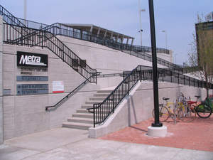 Chicago etria 35th Street Station built with Geofoam