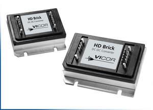 Vicor's new HD Brick Series DC-DC converters