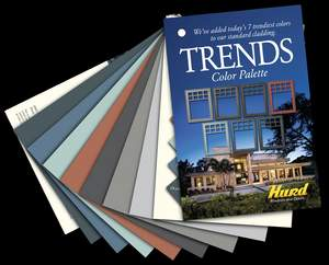Hurd Windows & Doors introduced a new Trends Color Palette, featuring seven new colors to add inspired detail to any design scheme.