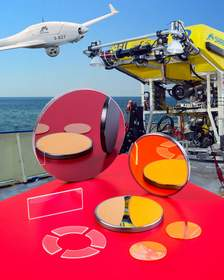 Meller custom optics for UAV and UUV