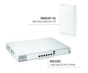 ZyXEL Expands Its Wireless Portfolio With Intelligent, Large-Scale WLAN Controller and Wall-Plate Access Point