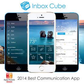 Inbox Cube Wins 2014 Appy Award for Best Communication App.