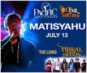 OC Fair Announces Performances by Matisyahu and John Kay & Steppenwolf in the 2014 Toyota Summer Concert Series at the Pacific Amphitheatre