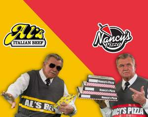 Mike Ditka signs with iconic restaurant brands, Al's Beef and Nancy's Pizza, as new spokesperson.