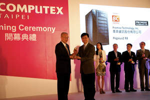 PROMISE Technology Receives Golden Award as Computex 2014 Kicks-Off