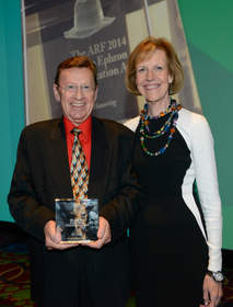Bill Harvey, Co-Founder and Strategic Advisor of TiVo Research and Analytics and Gayle Fuguitt, CEO and President of the ARF