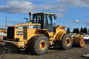 Yard Club Rental - CAT 966G Wheel Loader