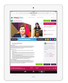 Match-Click Job Posting Tablet