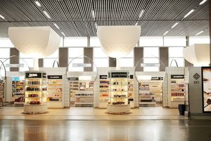 The first phase of the IDFS redesign project at Casablanca's Mohammed V International Airport was completed earlier this year with the unveiling of a new wall shop featuring fragrances, confectionery and gifts.