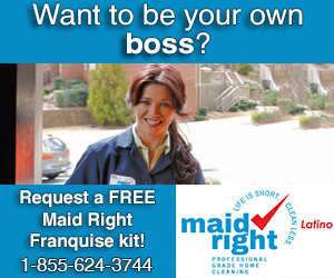 Own a Maid Right Latino franchise