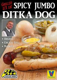 Mike Ditka, hot dog, Al's Italian Beef