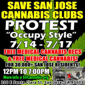 San Jose cannabis collective shutdown July 18th