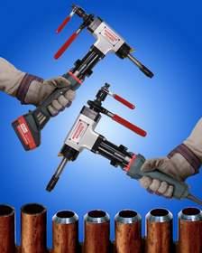 ESCO MILLHOG(R) pipe beveling tools