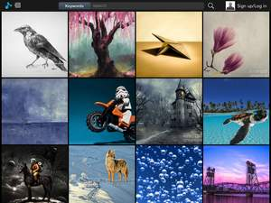 Pixels.com iPad App - Browse