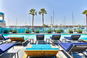 Esprit Marina del Rey has unveiled a newly renovated pool deck for its residents.