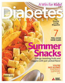 Diabetes Forecast, August 2014 issue